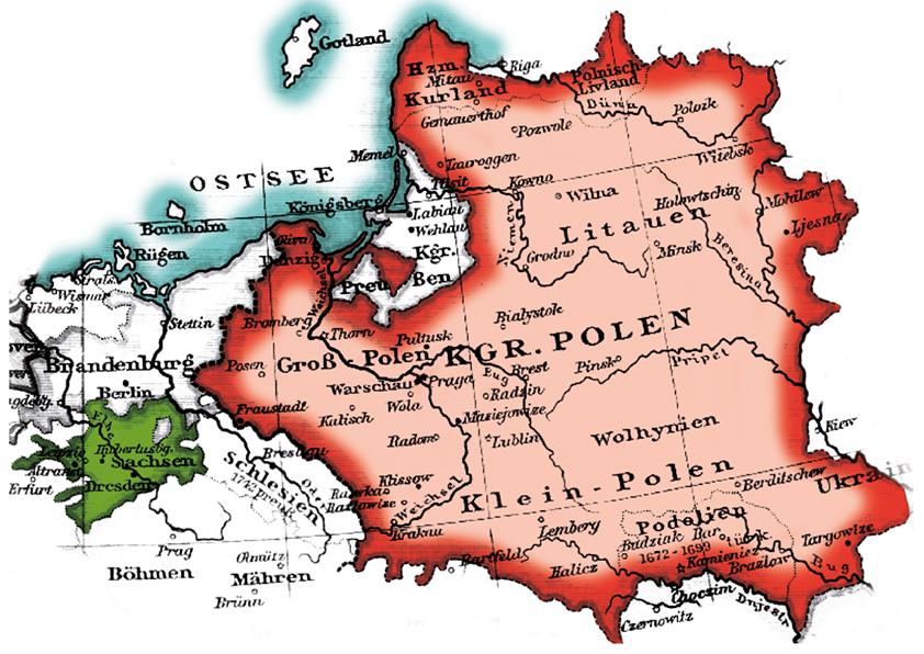 Sachsen Polen